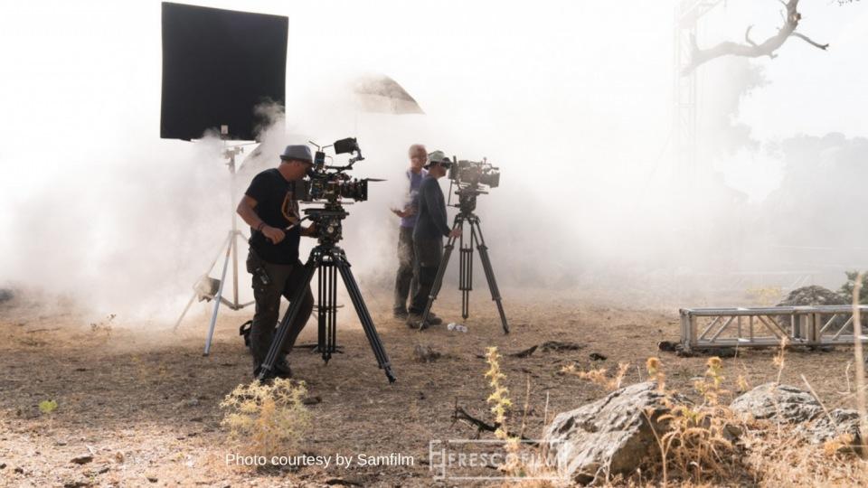 Ostwind 4 Fresco Film filming in Spain